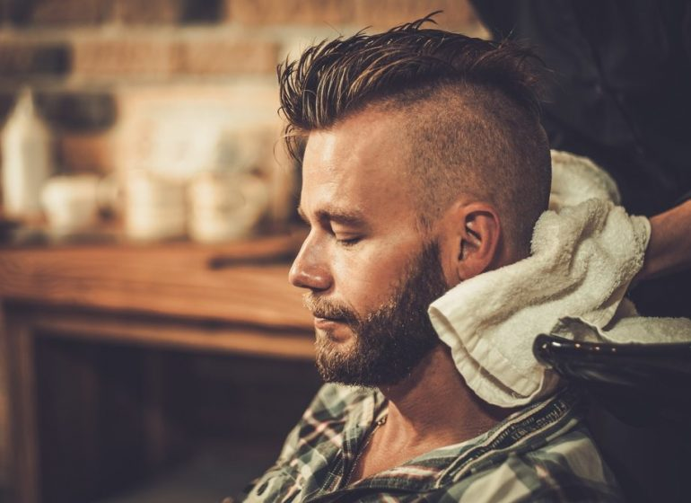 right mens hair product